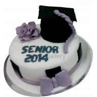 White Academic Cake (c163)